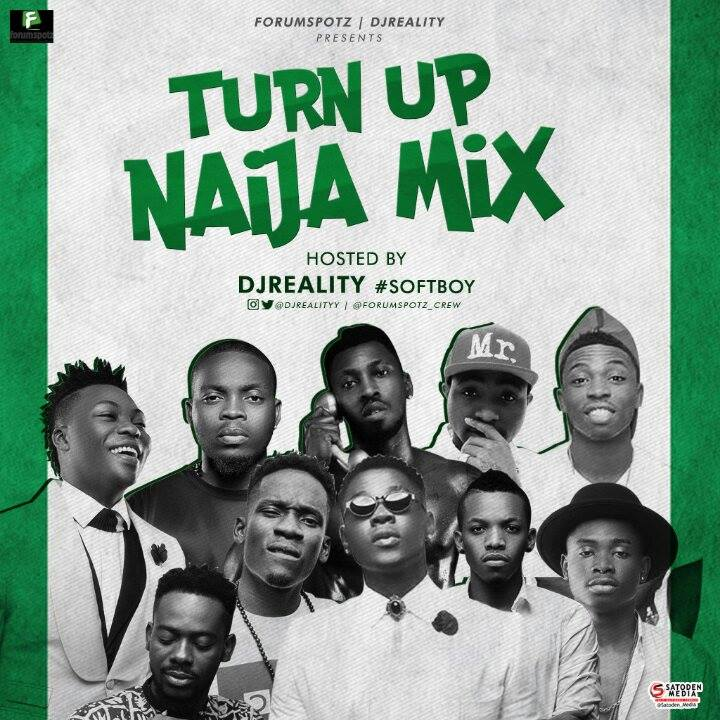 Photo of Mixtape: DJ Reality – 'Turn Up Naija Mix' (Download)