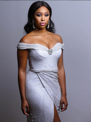 1. Wearing Gert Johan Coetzee Minenhle Minnie Dlamini 2016 AMVCAs OnoBello 1 - South African TV Personality Minnie Dlamini Joins SuperSport