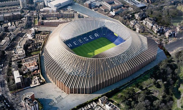 Photo of Chelsea Might Close Stadium Capacity Gap With Arsenal as Plans to Rebuild Stamford Bridge Receives Backing