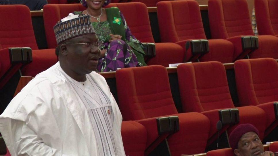 Ahmed Lawan - Senator Ahmed Lawan Resumes Duty As Senate Leader