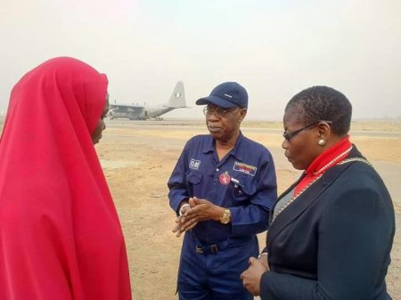 BBOG FG 1 - PHOTOS: Ezekwesili, Lai Mohammed, Others On A Day Search For Chibok girls to Sambisa Forest