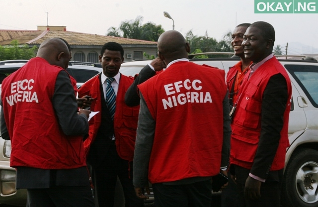 Photo of EFCC reveals why they are still detaining Atiku's son-in-law