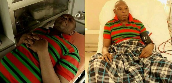 Photo of SAD! Veteran Nollywood Actor, Prince James Uche Evicted from Hospital