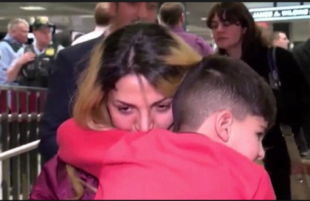 IRANIAN BOY OkayNG - 5-Year Old Iranian Boy Detained and Handcuffed at US Airport Over Muslim Ban