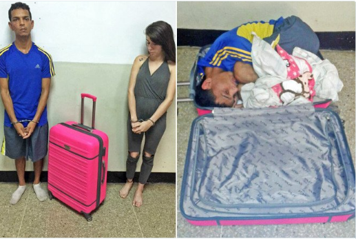 Jail break - PHOTO: Woman Caught Trying To Sneak Her Boyfriend Out Of Jail In a Suitcase