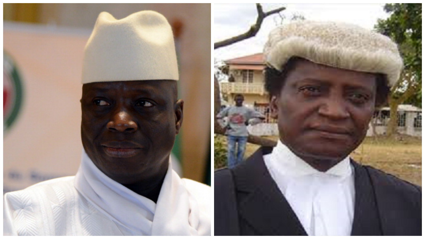 Jammeh Edward - GAMBIA: Yahya Jammeh's Lawyer Flees to Senegal As He Sends Him Letter to Step Down | READ