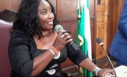 Jumoke Akindele OkayNG - Ondo Assembly Speaker, Jumoke Akindele Suspended