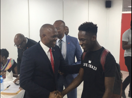 Photo of PHOTOS: Mr Eazi Visits Nigerian Billionaire, Tony Elumelu