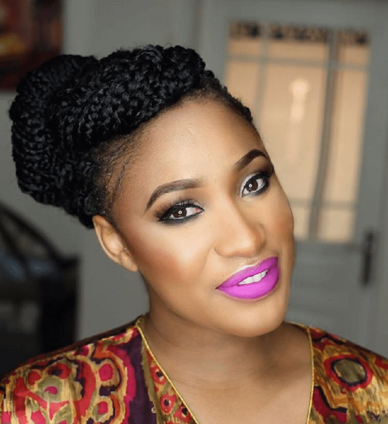 Mrs. Churchill - Tonto Dike-Churchill Writes On Domestic Violence, Says Only Weak Men Beat