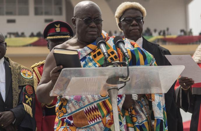 Nana Akufo Addo 690x450 1 - Ghana's President Nana Akufo-Addo Apologizes For Plagiarism In His Inaugural Speech