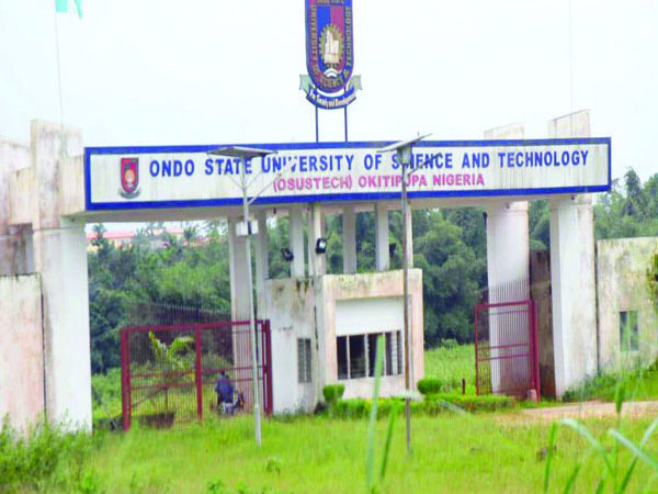 Ondo State University of Science and Technology 600x450 - Ondo University Expels Four Students, Suspends 16 Others For Gross Misconduct