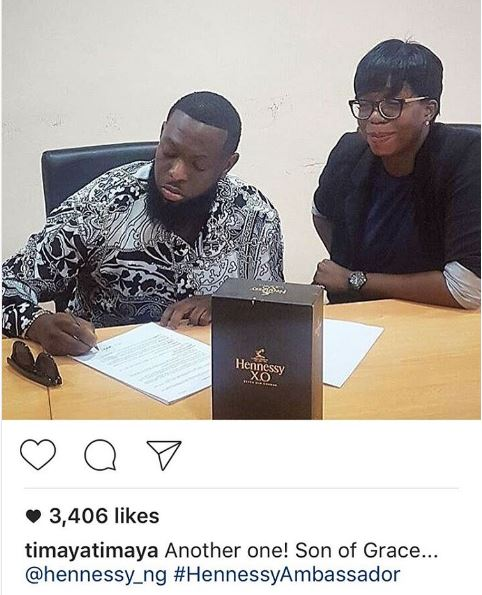 Timaya Hennessy OkayNG - Timaya Signs New Endorsement Deal with Hennessy Nigeria
