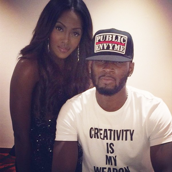 Tiwa Savage and Tunji