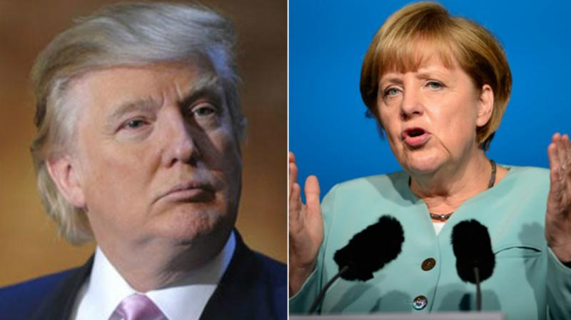 Photo of Germany's Angela Merkel Warns Donald Trump Against Protectionism