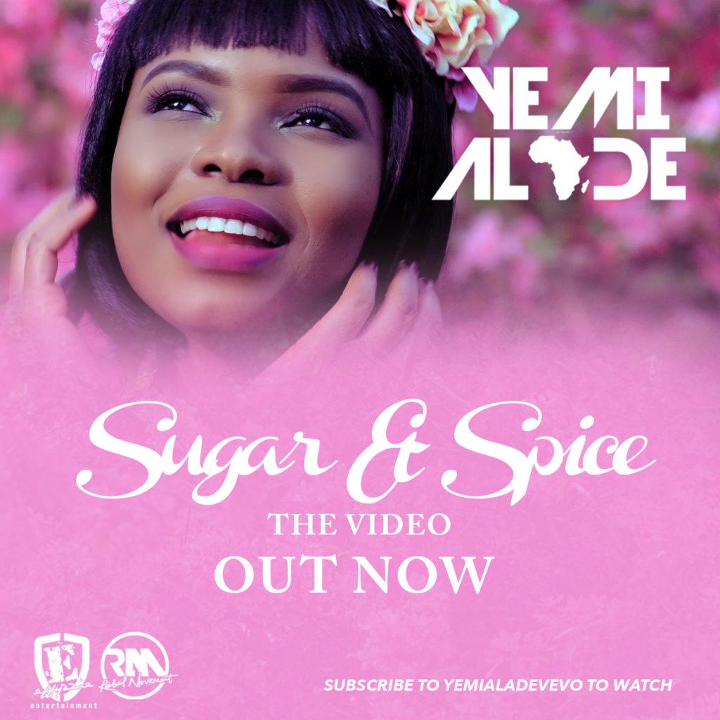 Yemi Alade Sugar n Spice Video Poster 2 1024x1024 - VIDEO: Yemi Alade Releases Visuals For 'Sugar n Spice' | WATCH