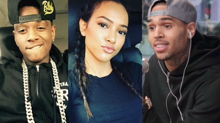 """Photo of """"No One Asked For Your Opinion!"""" Chris Brown Lashes Out At Karrueche Tran"""