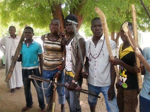 civilian jtf3 - Vigilante Group Kill Three Female Suicide Bombers in Adamawa
