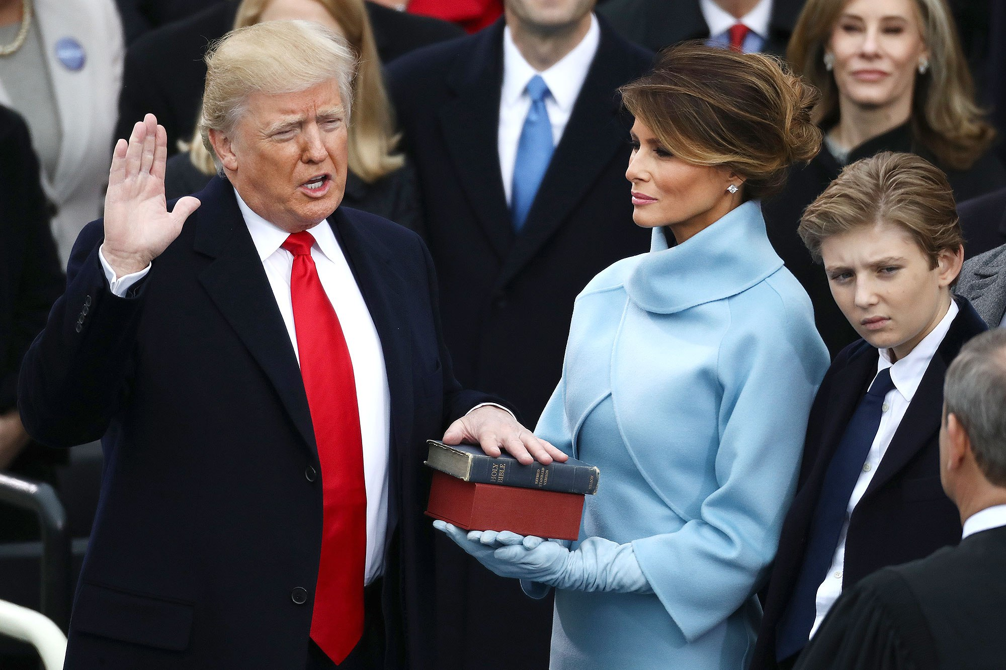 donald trump16 - Donald Trump Sworn In as 45th President of the United States