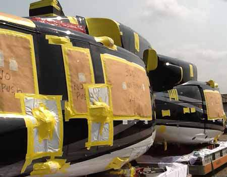 Nigerian Customs Seizes Two Civil Helicopters at Lagos Airport