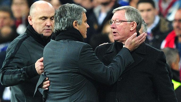 Old Trafford Is Sir Alex Ferguson's House, Says Mourinho