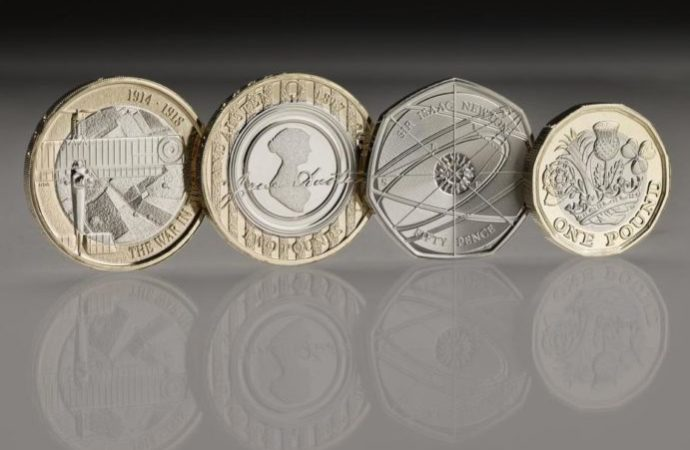 newcoins 690x450 - Britain to Launch New Pound Coin