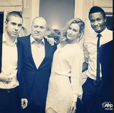 olga dad OkayNG - Mikel Obi's Russian Partner, Olga Diyachenko Loses Her Dad