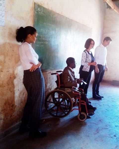 "Photo of Rihanna Visits School Children in Malawi as She Brings Her ""Global Ambassador for Education"" Role to Africa"