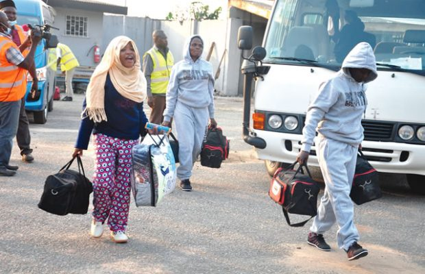 Photo of 43 Nigerian Deportees Arrive Lagos Airport From Germany, Belgium And Italy