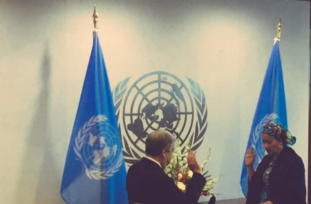 Photo of PHOTO: Amina Mohammed Sworn-in As UN Deputy Secretary General