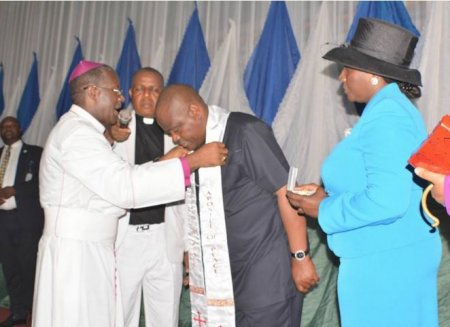 Photo of PHOTOS: CAN Confers Governor Wike With 'Apostle Of Peace' Title