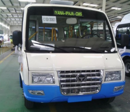 Danfo Replacement OkaYNG 1 - PHOTOS: SEE Buses That Will Replace Yellow Danfo In Lagos