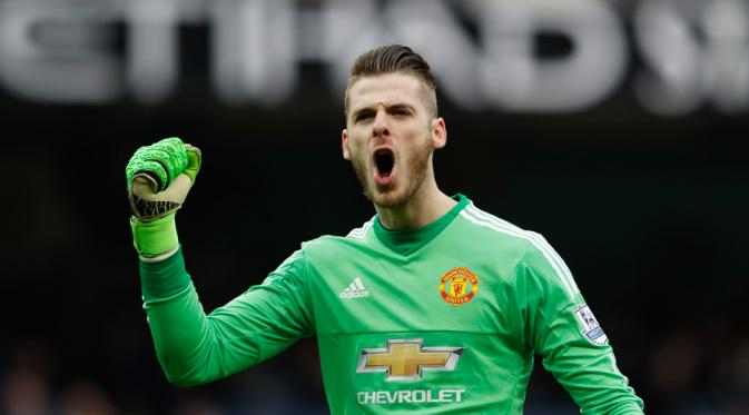 Photo of I Am Very Happy and Focused at Manchester United, Says De Gea