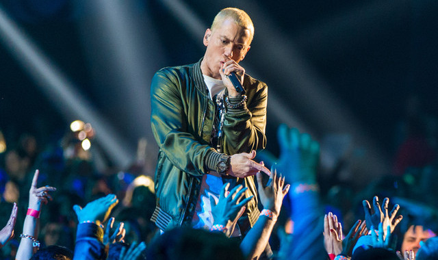 Eminem OkayNG - Eminem to Headline Reading and Leeds Festivals 2017 In UK