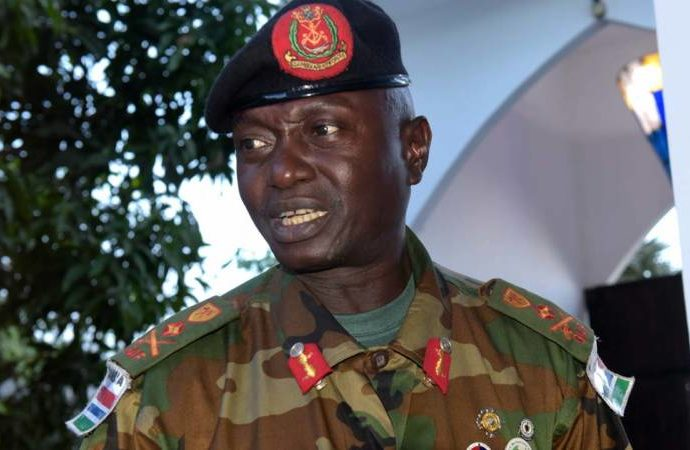 Gambia 690x450 - Gambia's Adama Barrow Fires Head of Armed Forces Replaces Him With His Special Military Adviser