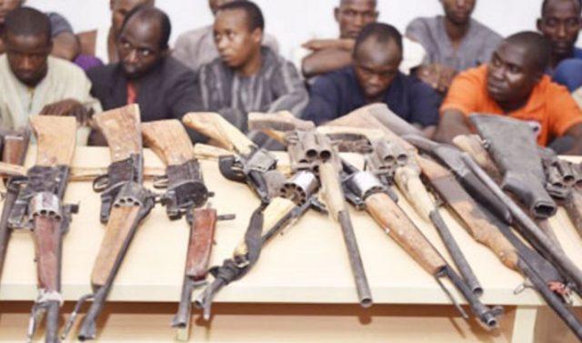 Photo of Police Parades 17 Suspected Fulani Herdsmen Linked to Southern Kaduna Killings