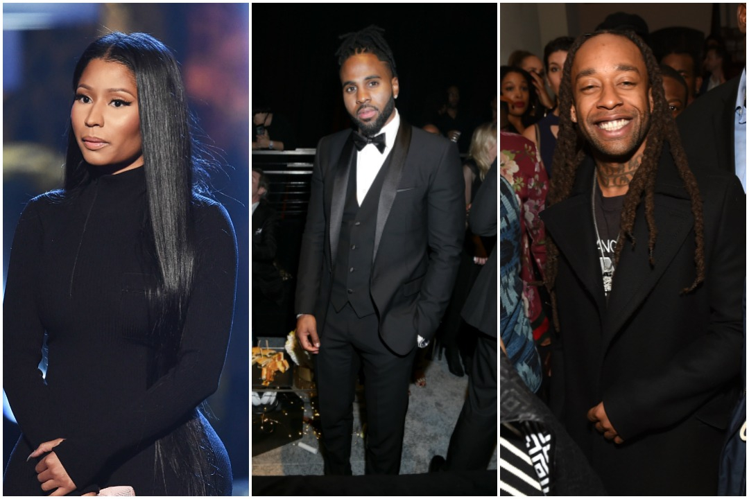 "Kevin WinterJerritt ClarkEmma McIntyre - Jason Derulo Says He His Teaming Up With Nicki Minaj & TY Dolla Sign For His New Song ""Swalla"""