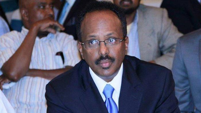 Photo of Somalia's Former Prime Minister, Mohamed Abdullahi Farmajo Elected New President