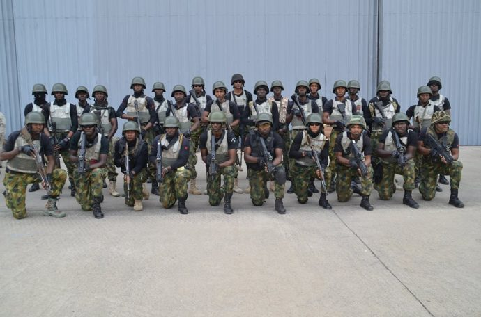 Photo of Nigerian Troops Sent to Gambia Return Home