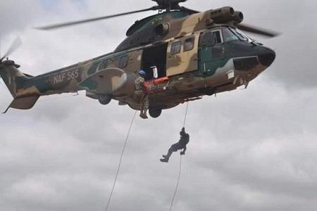 Eh Ehn! Boko Haram in Disarray as Nigeria Air Force Jets Drop Bombs at Tagoshe Mountain