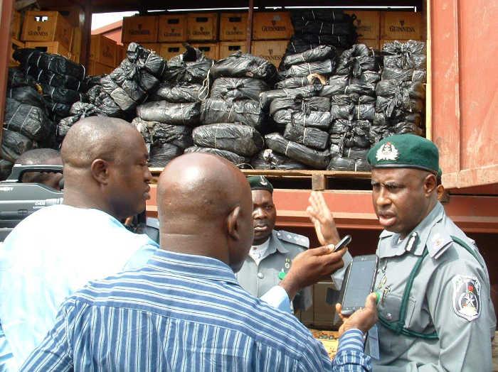 Nigerian Customs OkayNG - Nigerian Customs Seize 17 Contraband Goods Worth N194m In January