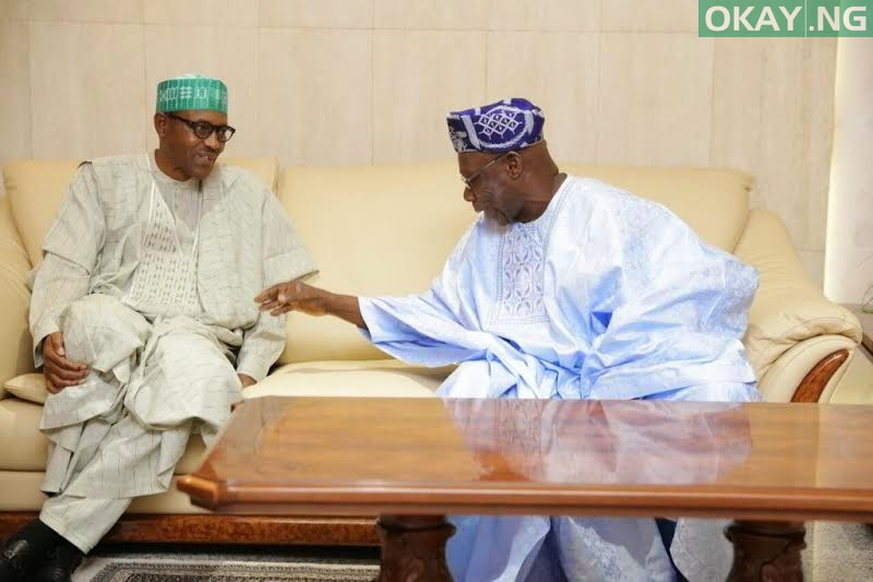 Photo of Obasanjo's letter to Buhari in PDF [Read]