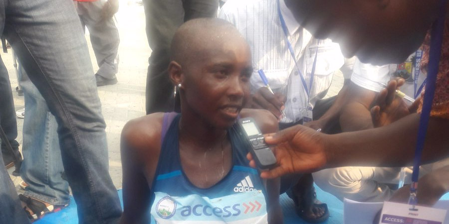 Photo of Winner of Access Bank Lagos City Marathon Female Category Says She Won't Mind Marrying A Nigerian