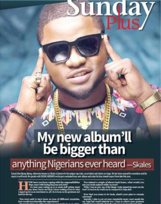 Skales Sunday Plus Cover 600x759 - My Album Will Be The Biggest In Nigeria – Skales