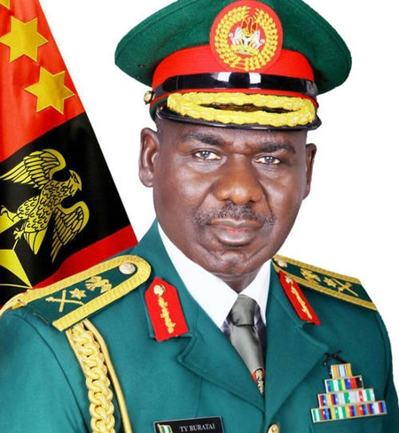 Chief of Army Staff, Lt-Gen Tukur Buratai