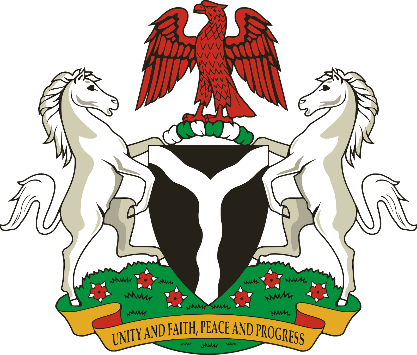 The Coat of arms of Nigeria - FG Announce Whistleblowing Programme!, Whistleblowers to Get 5% Reward of Recovered Loots