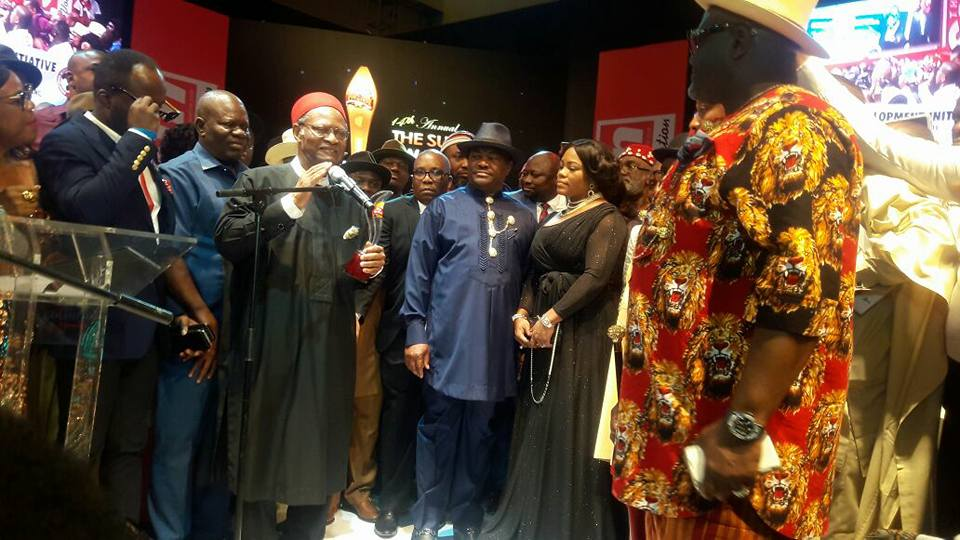 Wike Governor of the Year OkayNG 1 - PHOTOS: Gov. Wike Emerge Winner of 'Governor Of The Year Award' at The Sun Newspaper Awards
