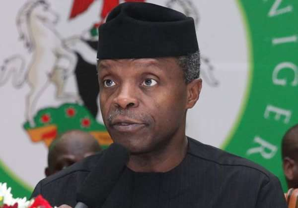 Yemi Osinbajo OkayNG 1 1 1 1 - Acting President Osinbajo with Governors, Ministers Over Rice, Wheat Production