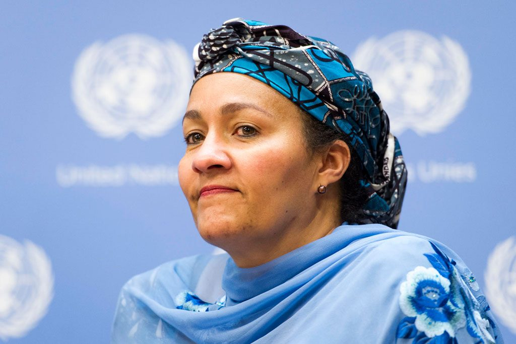 amina mohammed to resume work at un headquarters on tuesday