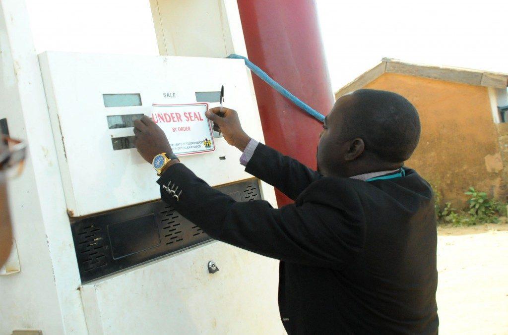 dpr seal OkayNG 1024x676 1024x676 1 - DPR Seals 27 Filling Stations For Selling Petrol Above N145 Per Litre In Akwa Ibom