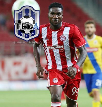 Photo of Ideye Moves To China, Joins Mikel At Tianjin Teda